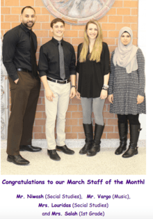 March Staff of the Month