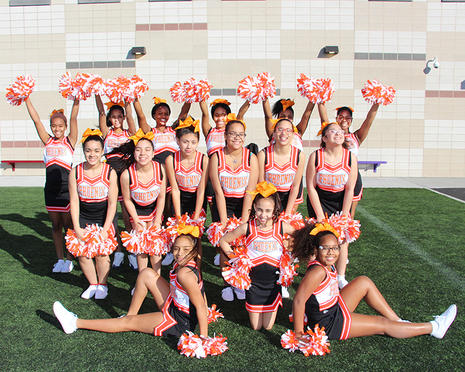 Phoenix Cheerleaders!