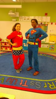 Pijama Day - Our Teachers are Superheroes!