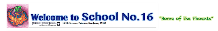 School No. 16  Logo